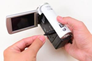 壊れたビデオカメラの買取について