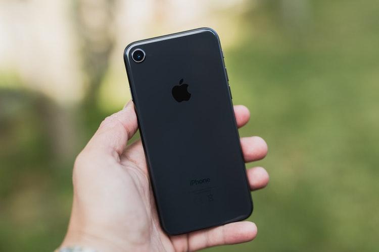 iPhone8ガラスフォルム