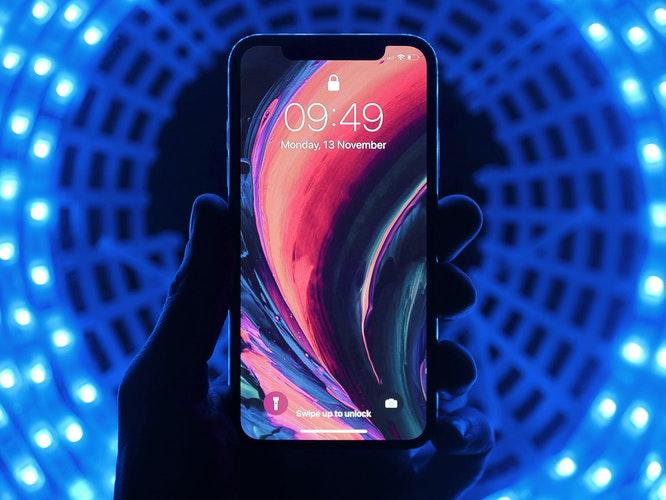 iPhone Xのスクリーン